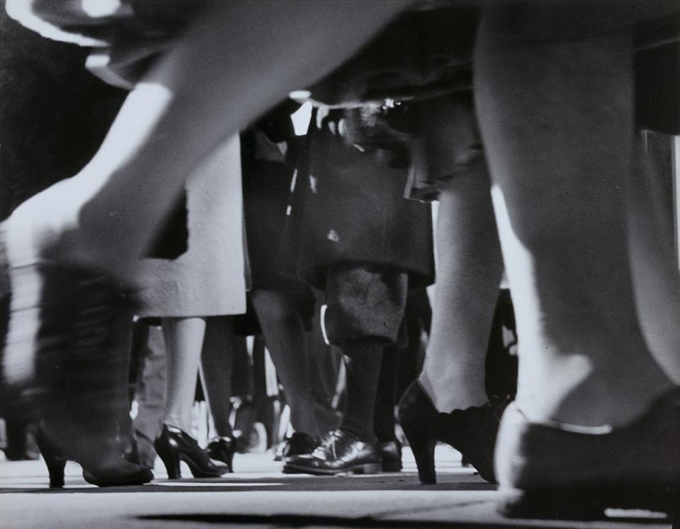 "Lisette Model's ""Running Legs, NYC."""